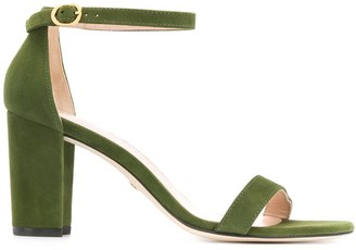 Stuart Weitzman Nearly block heel sandals