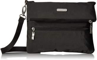 Baggallini Women's Flip Zip Cross Body Bag