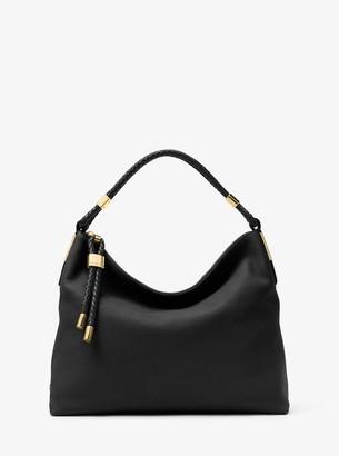 Michael Kors Skorpios Large Leather Shoulder Bag