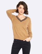 Oxford Lottie V-Neck Knit