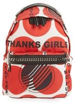 Stella McCartney Thanks Girls Nylon Backpack - Red