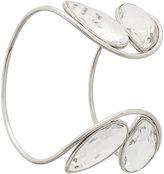 Maison Margiela charm detail curved bracelet