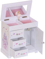 Asstd National Brand Mele & Co. Adalyn Musical Ballerina Wooden Jewelry Box