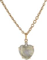 Irene Neuwirth Jewelry Labradorite Cabochon Heart Pendant