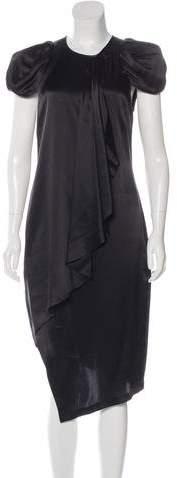 Thomas Wylde Silk Midi Dress