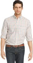 Izod Men's Classic-Fit Windowpane Easy-Care Button-Down Shirt