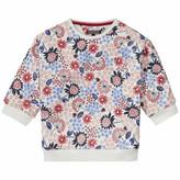 Tommy Hilfiger Girls Flower Cn Hwk L/S