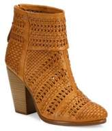 Rag & Bone Classic Newbury Woven Leather Booties
