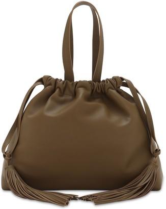 ATTICO Leather Top Handle Bag