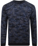 Paul & Shark Paul And Shark Camouflage Sweatshirt Navy