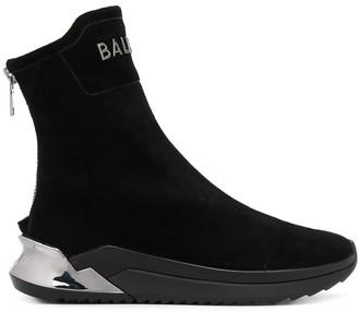 Balmain B-gloves hi-top sneakers