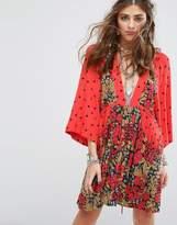 Free People Talulla Printed Mini Dress