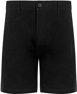 Circle Park Chino Shorts In Black