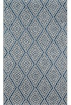 "Momeni Madcap Cottage By Lake Palace Rajastan Weekend Blue Indoor/Outdoor Area Rug Madcap Cottage by Rug Size: Rectangle 9'3"" x 12'6"""