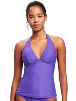 Old Navy Underwire V-Neck Tankini Top for Women