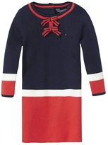 Tommy Hilfiger Th Kids Colorblock Sweater Dress