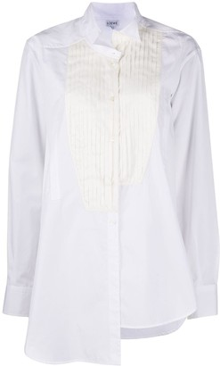 Loewe Pleated Bib Detail Shirt