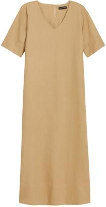 Banana Republic Linen-Cotton Maxi Dress