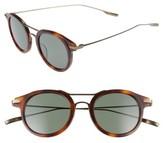 Salt Men's Taft 46Mm Polarized Round Sunglasses - Burlywood/ Antique Gold