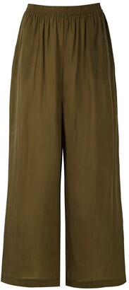 OSKLEN Wide-Leg Cropped Trousers