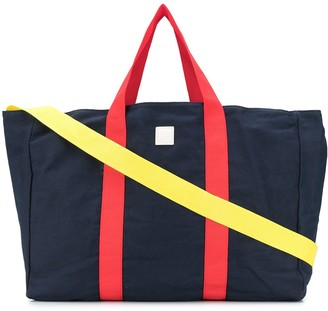 Woolrich Contrast Strap Tote Bag