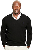 Polo Ralph Lauren Big & Tall Merino Wool V-Neck Sweater
