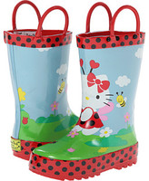 Western Chief Hello Kitty Ladybug Garden Rainboot (Toddler/Little Kid/Big Kid)