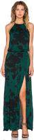 Karina Grimaldi Negra Maxi Dress