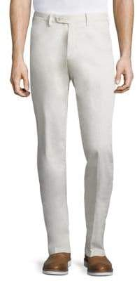 Saks Fifth Avenue COLLECTION Cotton Satin Chino