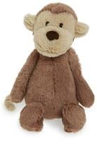 Jellycat Infant 'Small Bashful Monkey' Stuffed Animal
