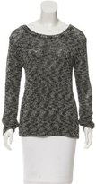 Alice + Olivia Scoop Neck Knit Top