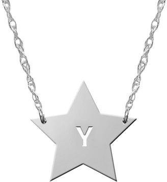 Jane Basch Celestial Collection 14K Monogram Initial Necklace