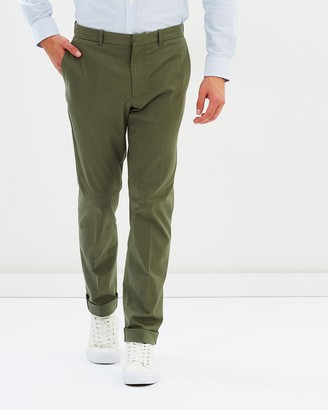Kent And Curwen Flat Front Chinos
