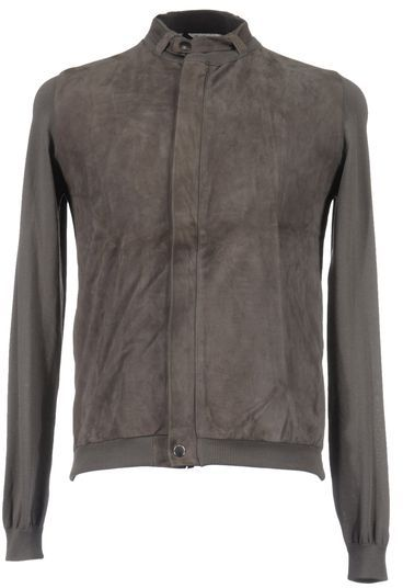 Roberto Collina Leather outerwear