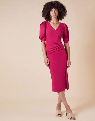 Under Armour Eleanore Asymmetric Button Shift Dress Pink