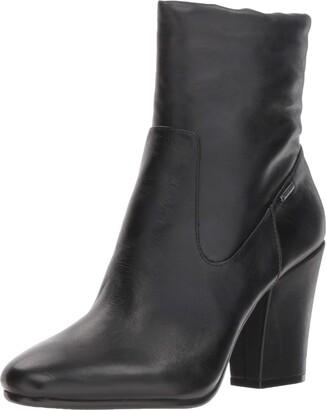Kenneth Cole New York Women's Merrick Goretex Waterproof Heeled Ankle Bootie Boot