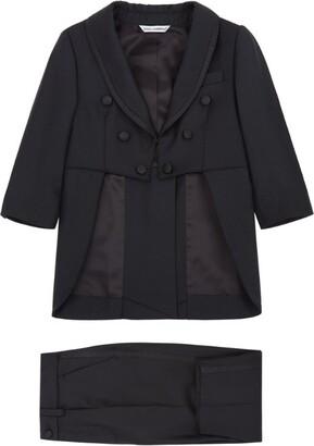 Dolce & Gabbana Kids Grosgrain Trim Two-Piece Suit