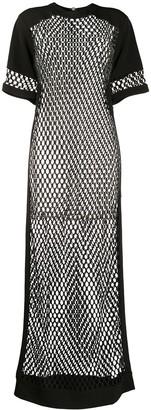 NO KA 'OI Mesh Maxi Dress