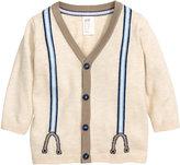 H&M Fine-knit Cardigan - Light beige - Kids