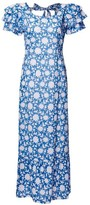 Pink City Prints - Seville Blue Dress - X Small