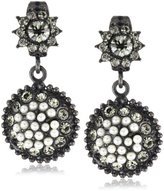 "Azaara Crystal"" Lyon Nights Pearl Earrings"