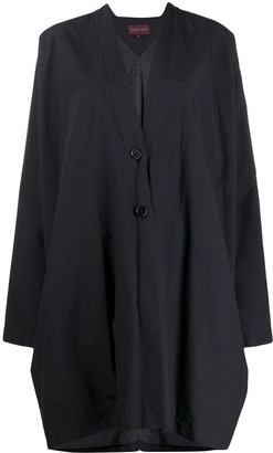 Romeo Gigli Pre-Owned 1990s Knee-Length Relaxed Coat