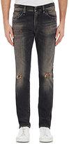 R 13 Men's Distressed Skate Jeans