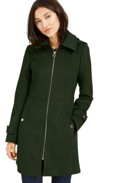 Michael Kors Michael Hooded Coat, Created For Macy's
