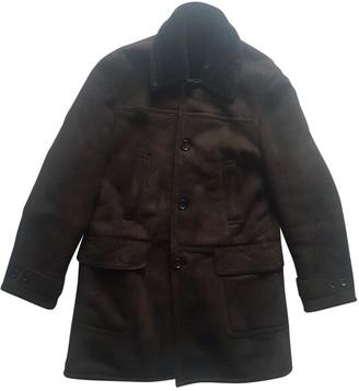 Gucci Brown Shearling Coats