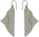 Swarovski Crystallized Fit Triangle Pendant Earrings