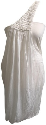 Yigal Azrouel White Dress for Women