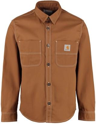 Carhartt Chalk Cotton Twill Overshirt