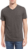 Robert Barakett &Chester& Slub Pocket V-Neck T-Shirt