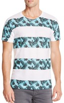 Kid Dangerous Palm Stripes Graphic Tee